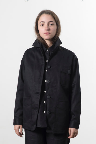 HEMP TWILL WORKER JACKET