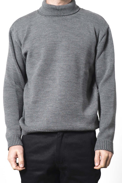 UNISEX AUSTRALIAN WOOL TURTLE NECK JUMPER