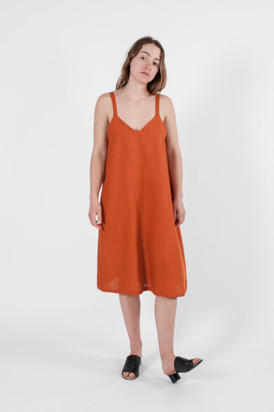 HEMP LINEN REVERSIBLE DRESS