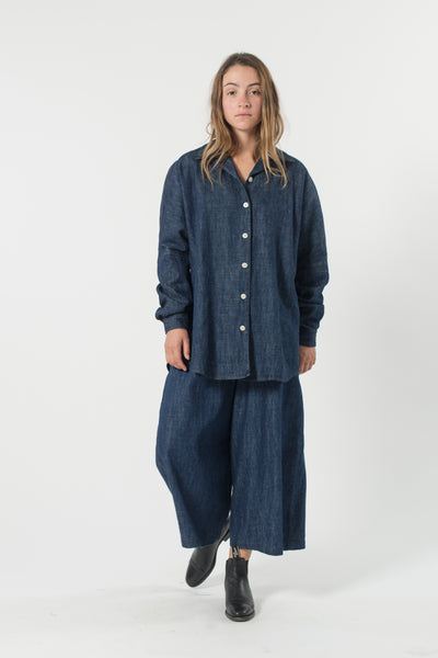 HEMP DENIM STUDIO SHIRT
