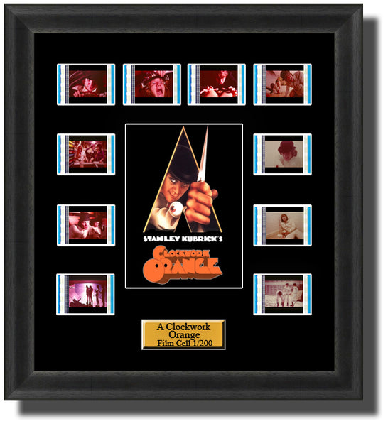 A Clockwork Orange 35mm Film Cell Memorabilia With LED Backlight Usb Powered Soft Touch Dimmable Backlit Back Light