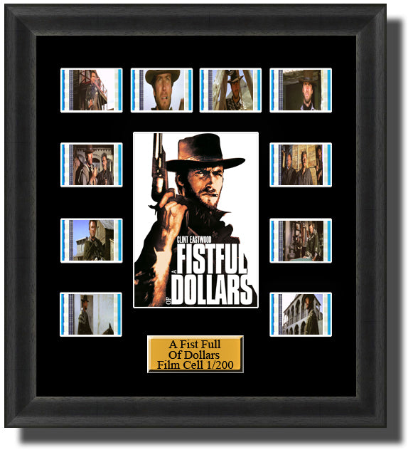 A Fist Full Of Dollars Film Cell Memorabilia