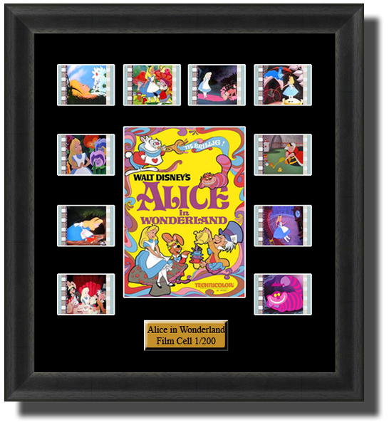 disney alice in wonderland 1951 film cells