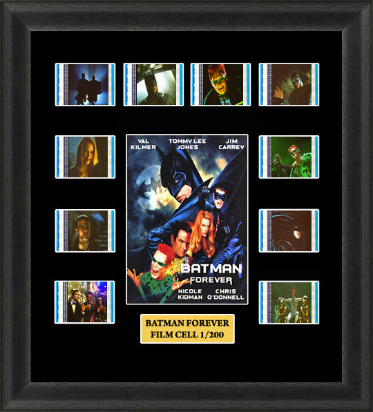 Batman Forever Film Cell Memorabilia Mounted Framed Limited Edition