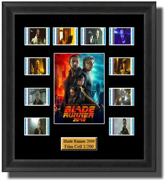 Blade Runner 2049 (2017) 35mm Film Cell Memorabilia With LED Backlight Usb Powered Soft Touch Dimmable Backlit Back Light