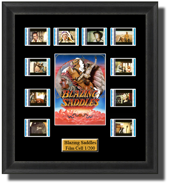 blazing saddles film cells