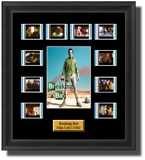Breaking Bad Film Cell Memorabilia