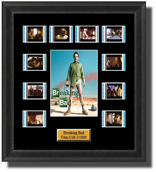 Breaking Bad (2008) 35mm Film Cell Memorabilia With LED Backlight Usb Powered Soft Touch Dimmable Backlit Back Light