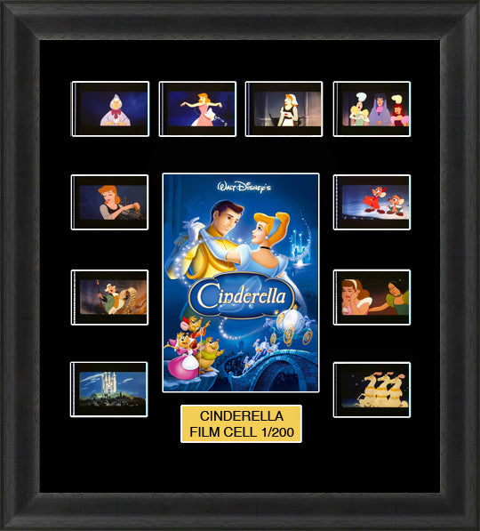 Cinderella 1950 film cells