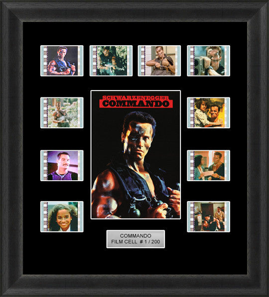 commando framed film cells
