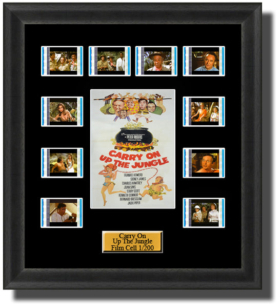 Carry On Up the Jungle (1970) Film Cell Memorabilia