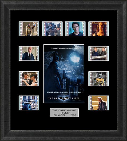 batman dark knight rises limited edition film cell