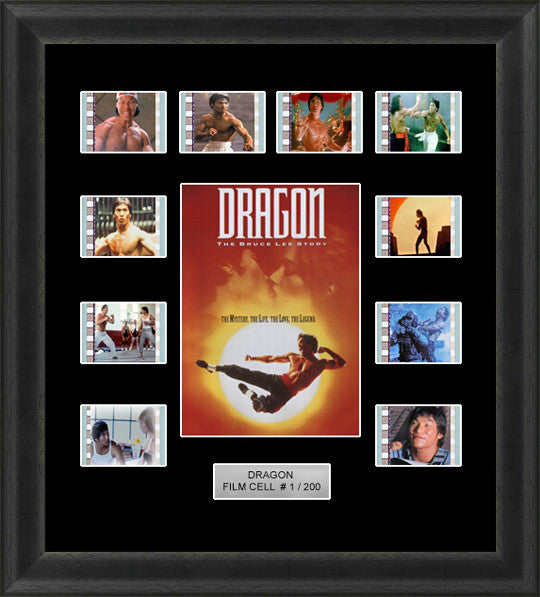 bruce lee story Dragon film cells