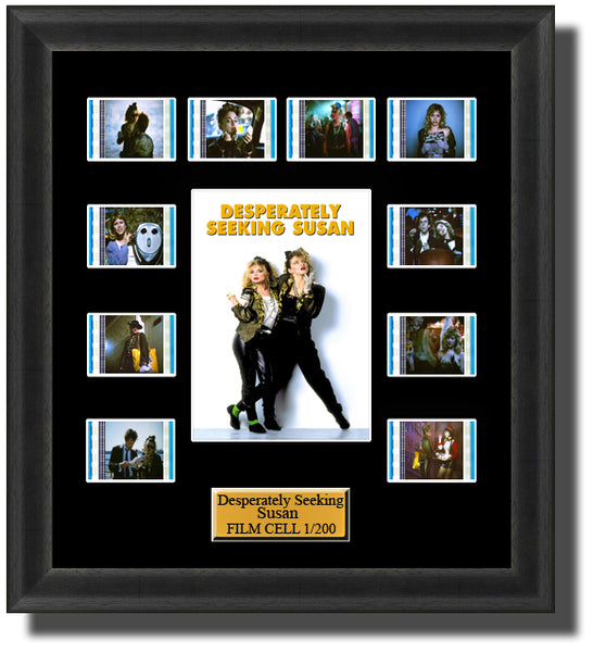 Desperately Seeking Susan (1985) 35mm Film Cell Memorabilia With LED Backlight Usb Powered Soft Touch Dimmable Backlit Back Light
