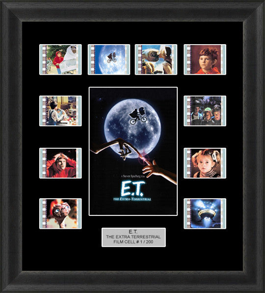 E.T. The Extra Terrestrial film cells