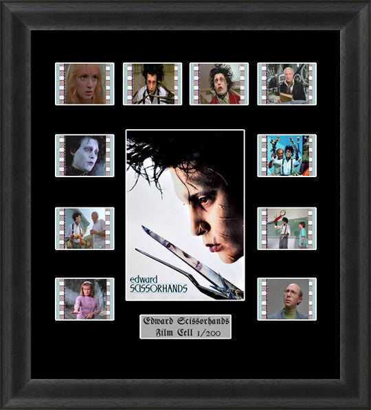 Edward Scissorhands film cells