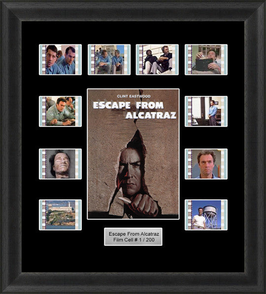 Escape From Alcatraz Film Cells