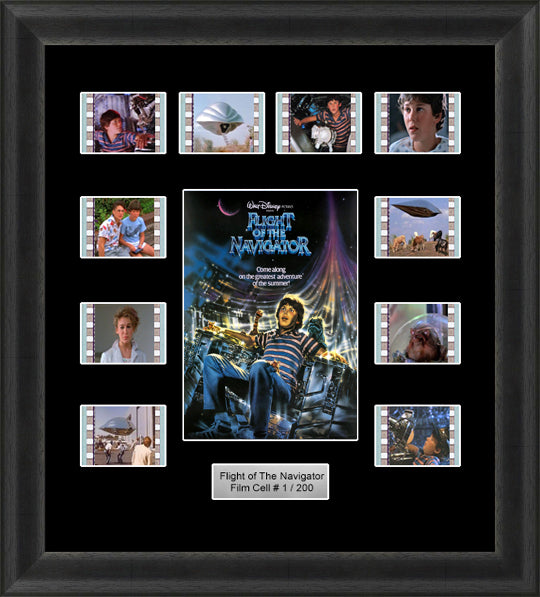 Flight Of The Navigator (1986) 35mm Film Cell Memorabilia With LED Backlight Usb Powered Soft Touch Dimmable Backlit Back Light