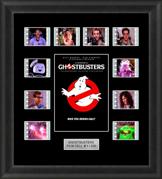 ghostbusters film cells