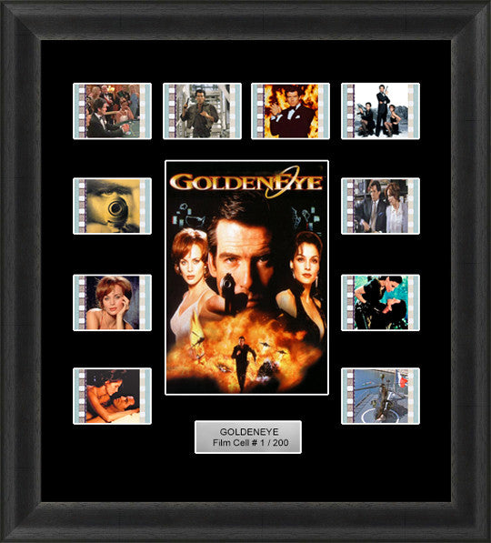 james bond goldeneye film cells