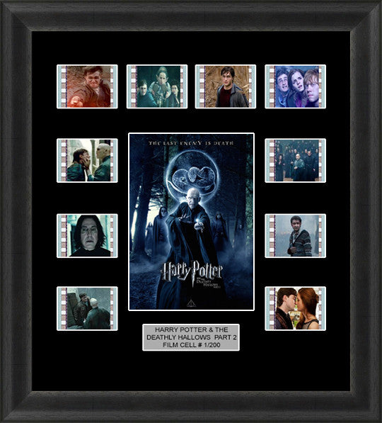 Harry Potter & The Deathly Hallows Part 2 Film Cells