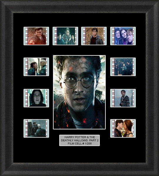 The Deathly Hallows Part 2 film cells