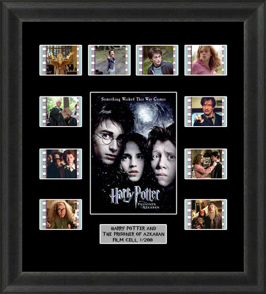 Harry Potter & The Prisoner Of Azkaban Film Cell Memorabilia