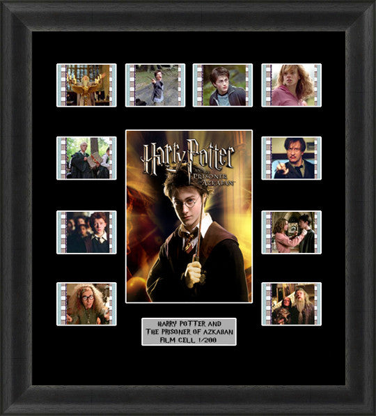 harry potter prisoner of azkaban framed film cells