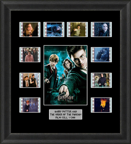 Order Of The Phoenix Framed Film Cells