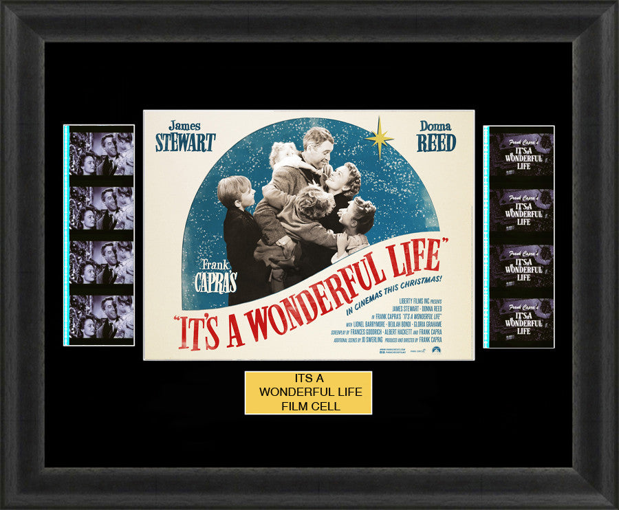 its a wonderful life film cells