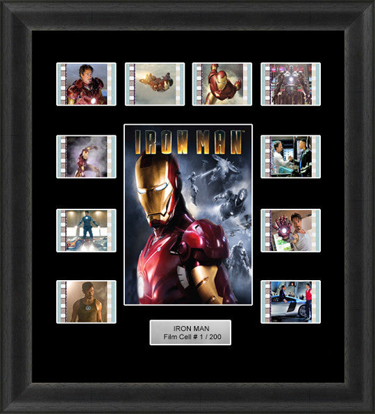 Iron Man (2008) film cells