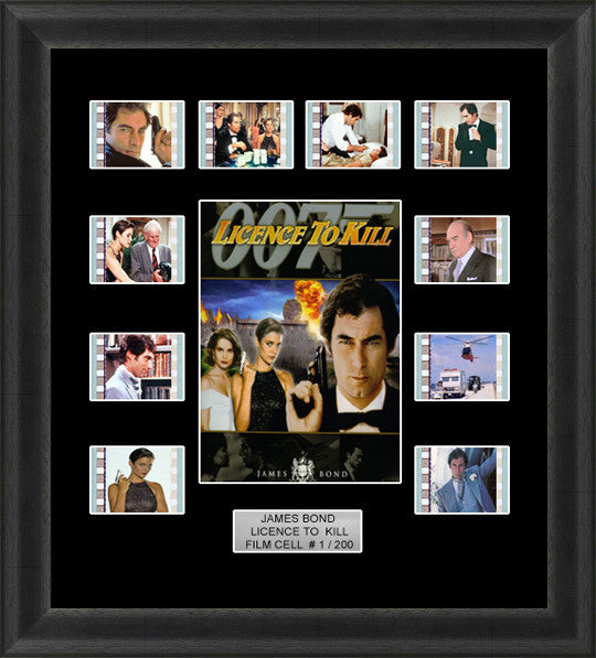 james bond licence to kill film cell