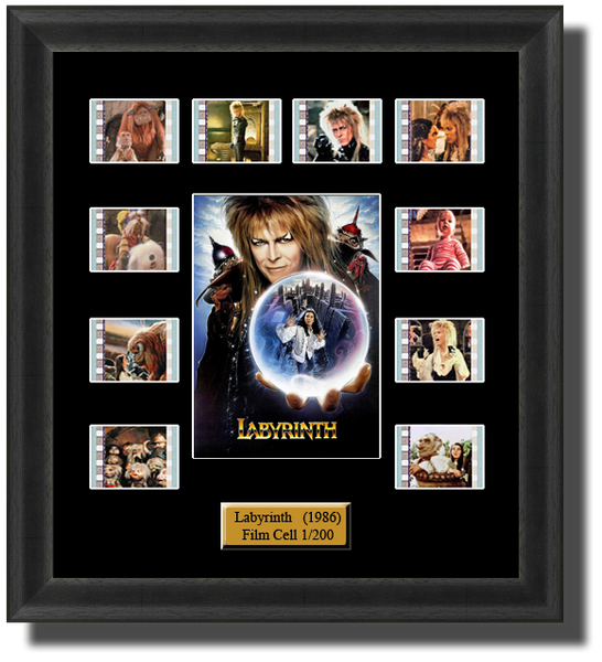 Labyrinth film cells
