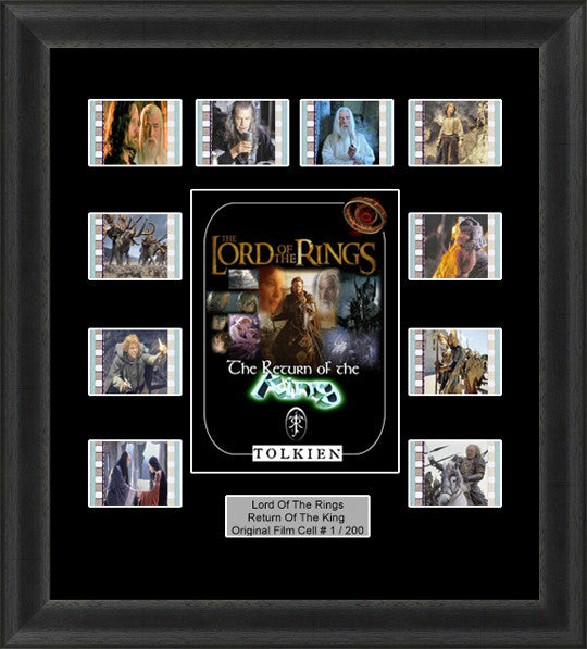 lord of the rings return king film cells