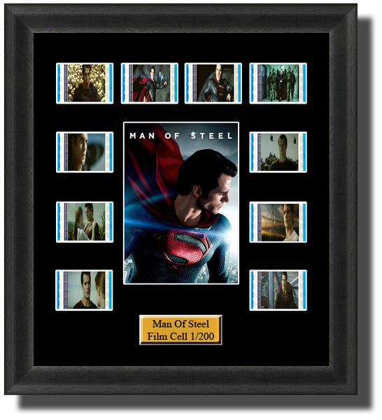 Man Of Steel (2013) Film Cell Memorabilia