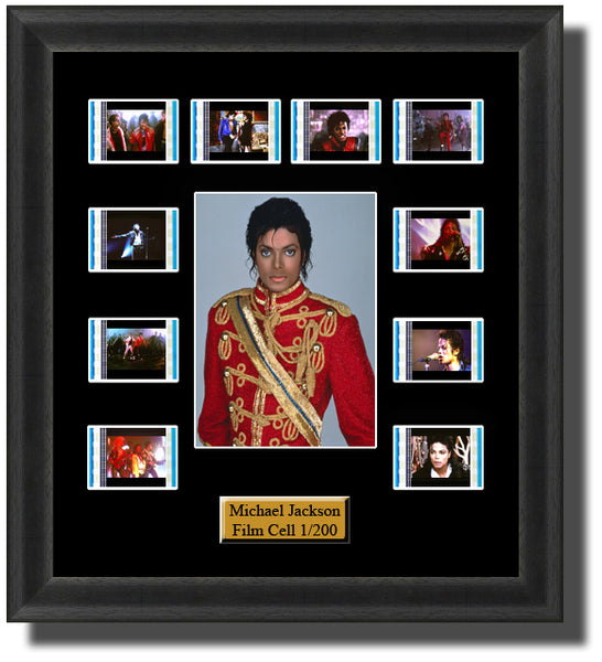 Michael Jackson Through The Ages Film Cell Memorabilia