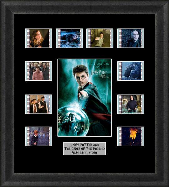 Harry Potter Order Of THe Phoenix Film Cell Memorabilia