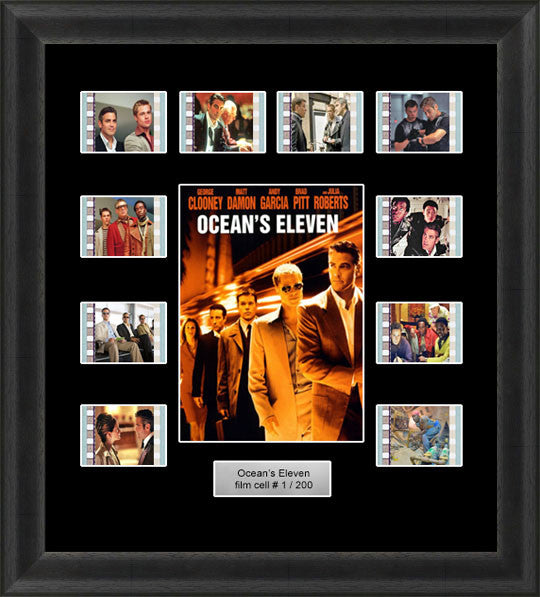 George Clooney oceans eleven film cells