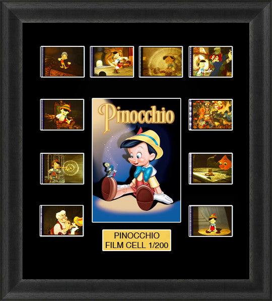 Disney Pinocchio 1940 film cells