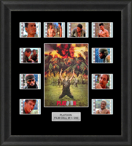Platoon (1986) film cells