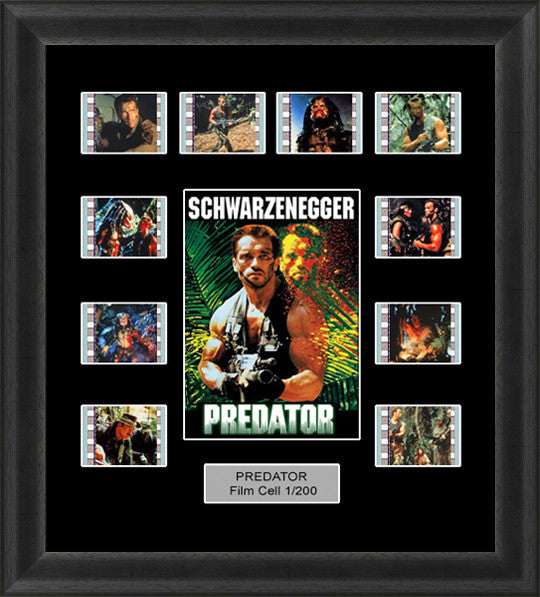 Predator (1987) film cells