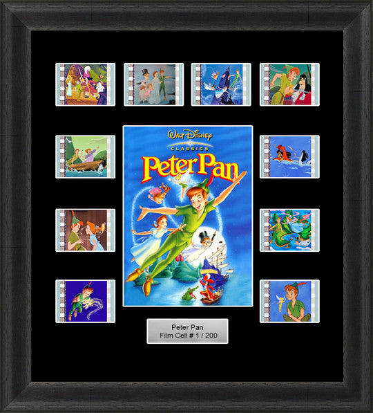 peter pan film cells disney