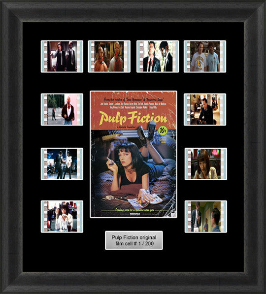 Pulp Fiction Framed Film Cells