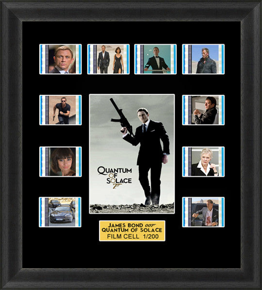 james bond quantum of solace film cells