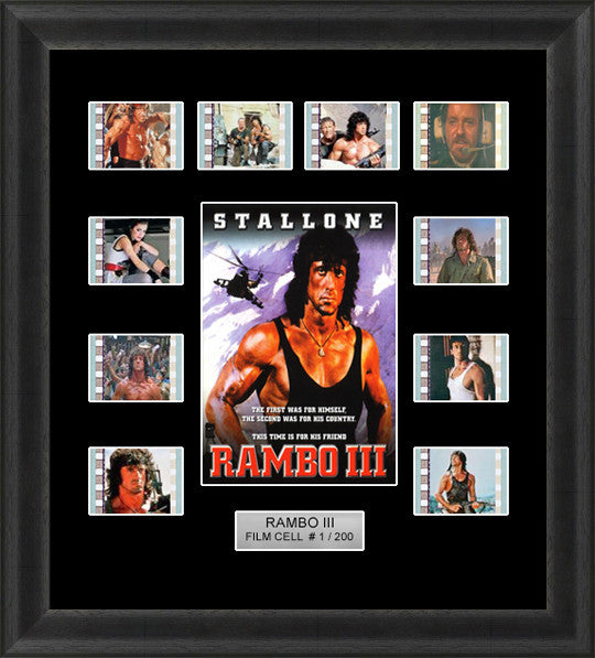 Rambo 3 Film Cells 35mm