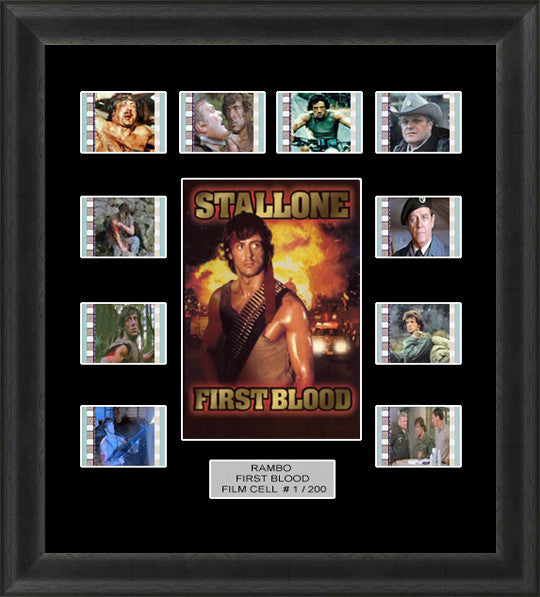 Rambo first blood Stallone film cells