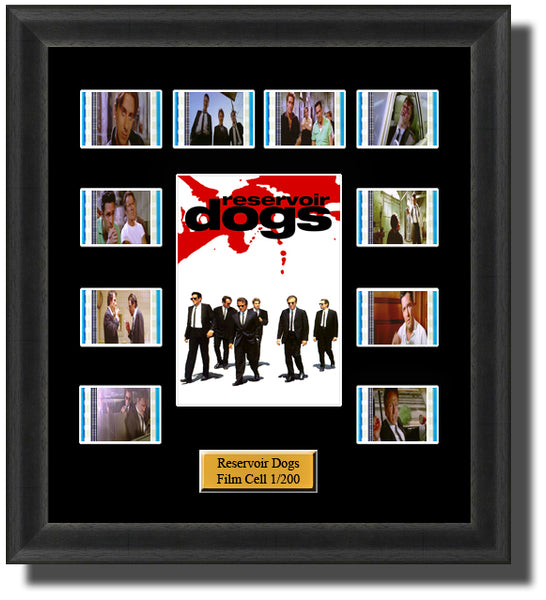 Reservoir Dogs (1992) 35mm Film Cell Memorabilia With LED Backlight Usb Powered Soft Touch Dimmable Backlit Back Light