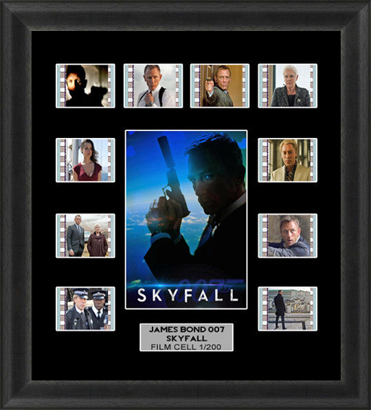 james bond skyfall film cells v1