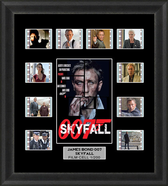 james bond skyfall film cells version 2