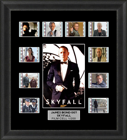 skyfall film cells james bond